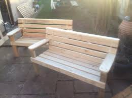 Wooden Pallet Bench Home Design Impressive Garden Sofa From Pallets Outdoor Pallet
