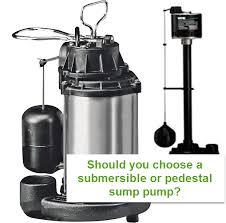 Pedestal Or Submersible Sump Pump Best Wayne Sump Pump Review And Buying Guide