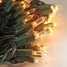 on u0027h christmas lights 100 count clear mini string lights set