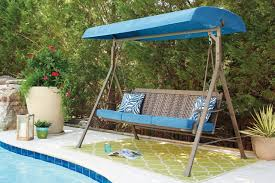 Swing Patio Furniture Outdoor By Ashley P556 908 Partanna Swing Ashley Furniture