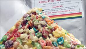edible treats fruity rice krispie treat 100mg from truly edibles review
