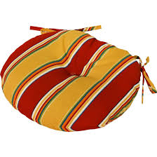 Outdoor Bistro Chair Cushions Round by Cushions Ulani Bistro Round Seat Cushion Round Bistro Chair