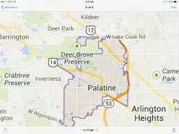 Allegiant Route Map by Snapshot Of A Google Map Pic Of Downtown Palatine Il Favorite