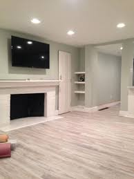 wall colors for family room grey laminate floor with natural wall color for cool basement family