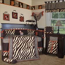 Animal Print Crib Bedding Sets Unique Color Pattern Leopard Print Bedding All Modern Home Designs