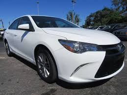 toyota cars usa 2016 toyota camry se 4dr sedan in miami fl credit cars usa