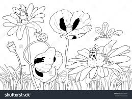 coloring pages green grass kids drawing and coloring pages