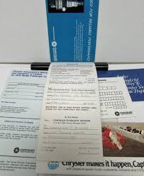 plymouth barracuda cuda operators owners manual packet 426 440 6