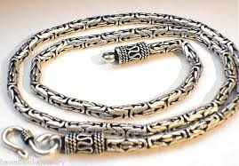 byzantine chain necklace images 3mm 6 5mm variety oxidized sterling silver bali byzantine chain jpg