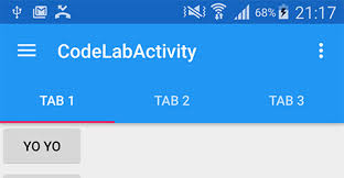 android toolbar tutorial codelab for android design support library used in i o rewind