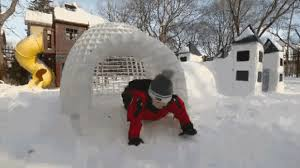 How To Build An Igloo In Your Backyard - montrealer u0027s invention makes backyard igloos easy and safe ctv