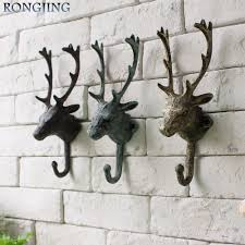 Decorative Coat And Hat Hooks Coat U0026hat Hook Hanger Moose Head Decorative Coat Hook American