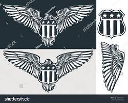 bentley logo vector vector eagle shield stock vector 164873381 shutterstock