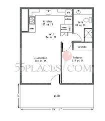World Floor Plans 575 Floorplan 575 Sq Ft Leisure World Seal Beach 55places Com
