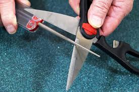 How To Sharpen Serrated Kitchen Knives Amazon Com Dmt Fskf Diafold Serrated Knife Sharpener Fine Home