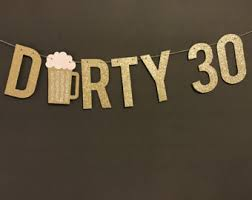 30th birthday decorations 30th birthday party etsy