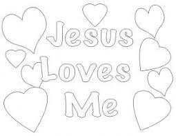 jesus loves coloring pictures images printable coloring