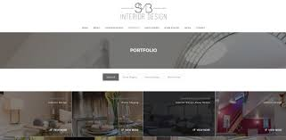 new website for smb interior design web design in bournemouth