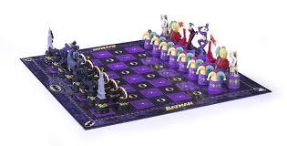 amazon com batman dark knight vs the joker chess set toys u0026 games