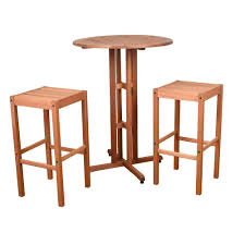 Round Decorator Table by Bistro Table Bistro Sets Patio Dining Furniture The Home Depot