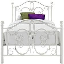 Twin Bed Headboard Footboard Best 25 White Metal Headboard Ideas On Pinterest Metal Beds