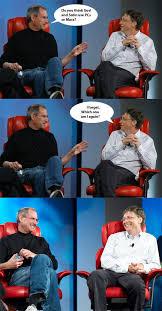 Bill Gates Steve Jobs Meme - the best of the steve bill meme