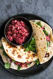 turkey tacos with cranberry salsa recipe simplyrecipes