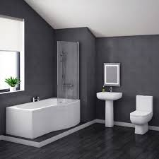 pro 600 modern shower bath suite online at victorian plumbing co uk