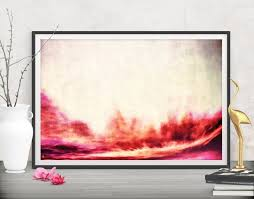 printable art business bring sunshine to your weeknights with this red decor abstract
