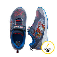 paw patrol light up sneakers nickelodeon paw patrol light up sneaker fabkids