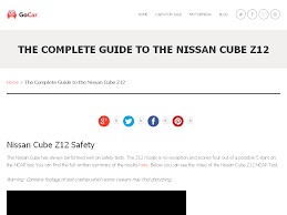 nissan cube z12 australia the complete guide to the nissan cube z12 page 7 of 7 go car