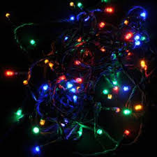 8 function multi color led christmas lights solar christmas party string lights mutli colored ecogeekliving