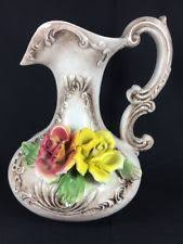 Decorative Pitchers Capodimonte Pitcher Ebay
