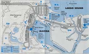 Largo Florida Map by Key West Parks With John Pennekamp Coral Reef State Park