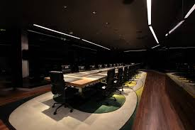 dark wood conference table conference room stock photos images pictures shutterstock glass door