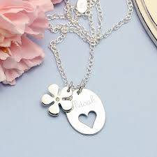 engraving necklaces kids engraved necklaces personalized necklaces