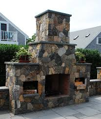 Outdoor Fireplace Prices by Outdoor Fireplaces Stone Fireplace Kits Cape Cod Ma New England
