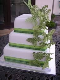 green butterfly wedding cake butterfly wedding cake wedding
