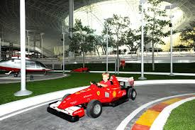 ferrari world ferrari world abu dhabi world u0027s largest indoor theme park opens