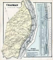 Washington County Pa Map by Ancestor Tracks 1868 Atlas 1868