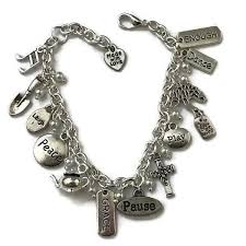 pearl bracelet with silver charm images Sabbath moment 8 inch silver charm and white pearl bracelet jpg
