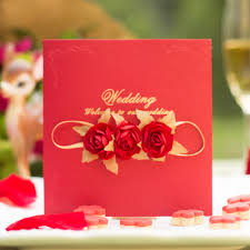 Personal Wedding Invitation Cards Sweet Day Fashion Nobleness Rose Wedding Invitation Card Envelope