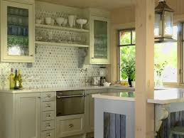 interior ivory polished wooden kitchen cabinet set with door