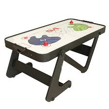 foldable air hockey table bce typhoon 6 folding air hockey table robert dyas