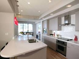 galley kitchen lighting ideas galley kitchen proportionfit info
