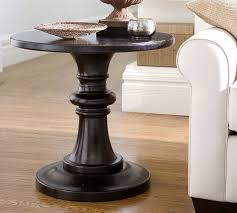 white pedestal side table adorning your home with pedestal side table energiadosamba home ideas