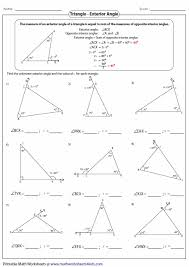 triangles worksheets ideas pinterest worksheets
