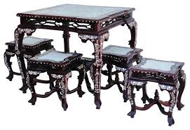 Rosewood Dining Room by Dining Table Chinese Rosewood Dining Room Set Chinese Dining