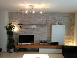 Wandgestaltung Wohnzimmer Mit Beleuchtung Fernsehwand Mit Indirekter Beleuchtung