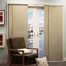 Patio Door Panel Curtains by Sliding Door Window Treatments Amazon Com